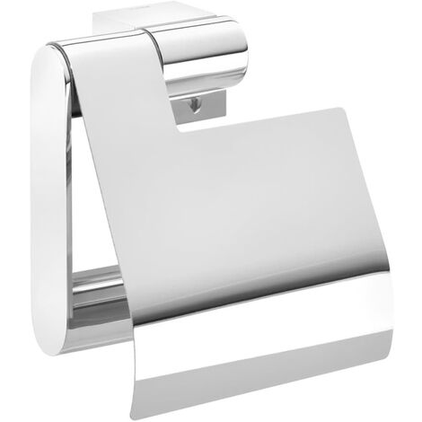 Tiger Toilet Roll Holder Nomad Chrome 249130346 - Silver