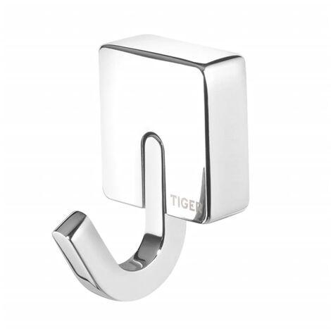 Tiger Towel Hook Impuls Chrome Metal 4.8x5.5 cm 387130346