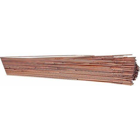 Tiges de soudure WIG acier GYS - diam 1,6 x 330 mm 0,33 kg - 60 pces