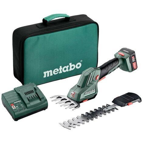 Tijera Cortasetos Con Batería Metabo PowerMaxx SGS 12Q