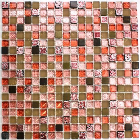 Tile and mosaic for a bathroom or shower wall Quilt