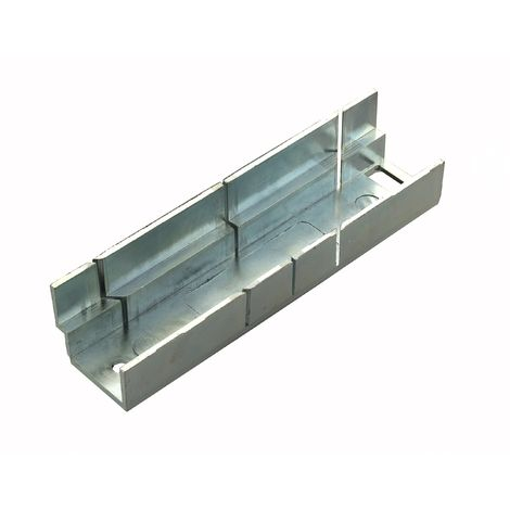 Tile Rite MMB362metal Mitre box, argento, Small
