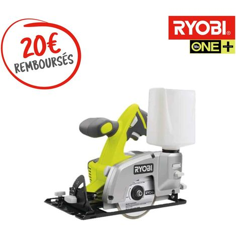 Tile saw RYOBI 18 V OnePlus wheel 102 mm - without battery or charger LTS180M