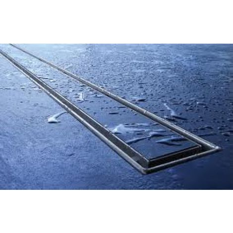 """Tile trough TECEdrainline """"plate"""" for straight shower channels, 600970, 900mm, polished - 600970"""
