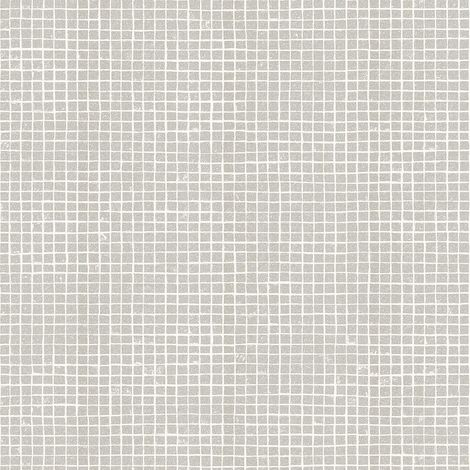 Tile Wallpaper Mosaic Glitter Effect Grey White Kitchen Bathroom Washable Vinyl