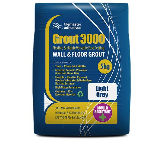 """main image of """"Tilemaster 3000 Light Grey 5kg Tile Grout"""""""