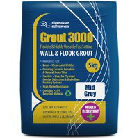 Tilemaster Grout 3000 - Mid Grey (5KG)