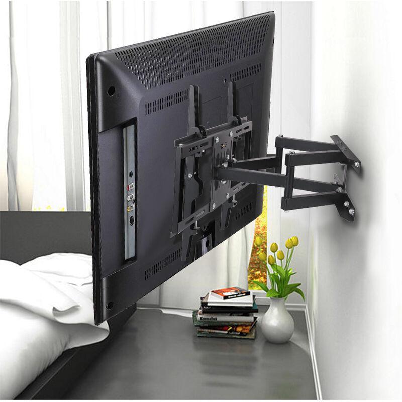 LCD LED Corner TV Wall Bracket 30 32 40 47 50 55 inches Tilt Swivel Universal UK