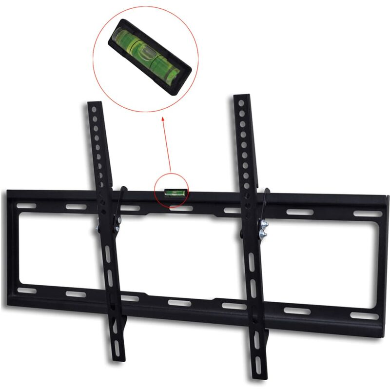 Tilt Wall Mounted TV Bracket 600 x 400 mm 32' - 70' - Black