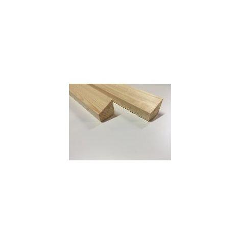 Timber Batten 50mm x 50mm x 2400mm 115 Degree Chamfer