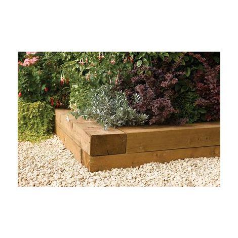 Timber Blocks 0.9m (Pack Of 2)