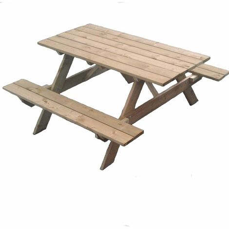 Timber Garden Picnic Table