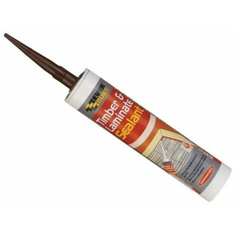 Everbuild TIMBMAH Timber And Laminate Sealant Mahogany 290ml