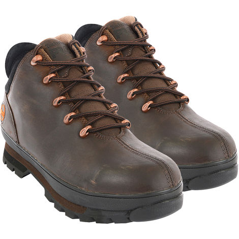 Timberland 6201043 Pro Split Rock Safety Boots Brown Size 10