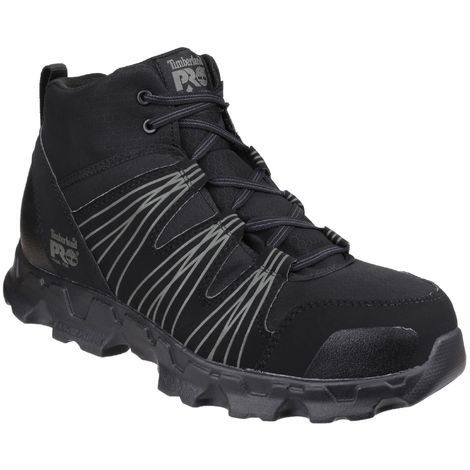 Timberland Pro Mens Powertrain Mid Patterned Safety Boots