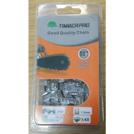 Timberpro 10 Quot Top Handle Chainsaw Chain Copy Of Tw Sp C