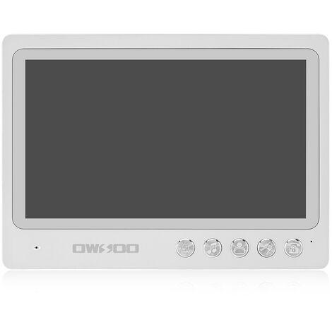 Timbre con video OWSOO de 9 '', timbre de seguridad para el hogar a prueba de agua al aire libre
