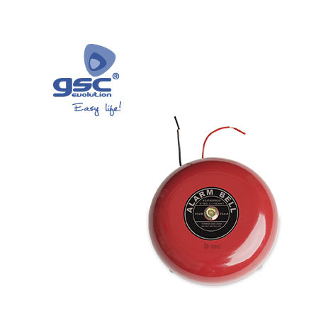Timbre industrial electromecánico 15cm diámetro 86db 230V