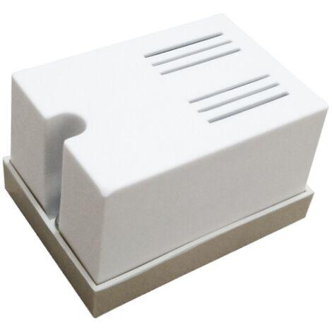 Timbre zumbador Blanco 80 dB Conexión Hilos 230V