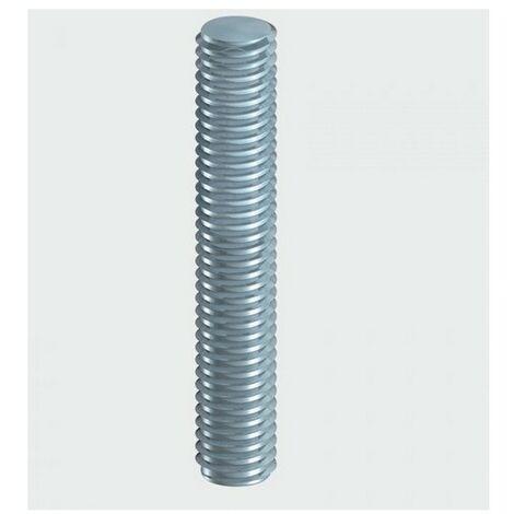 TIMco 10TBZ Threaded Bar DIN 975 BZP M10 x 1000mm Pack of 10