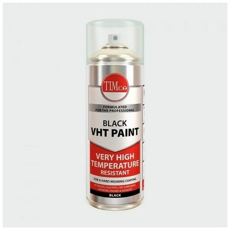 TIMco 237896 VHT Paint - Black 380ml