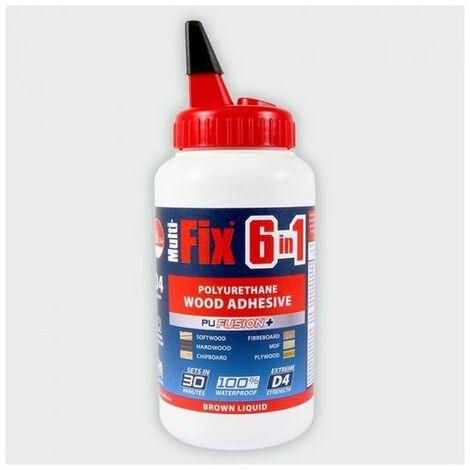 TIMco 247834 6in1 PU Wood Adhesive 30min 750g