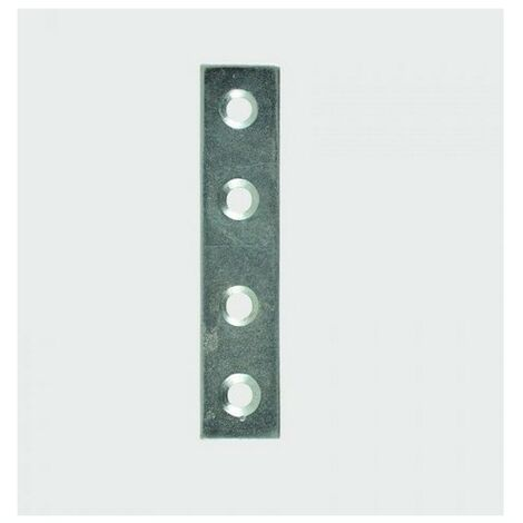 TIMco 75MPLP Mending Plate 75 x 16mm Bag of 4
