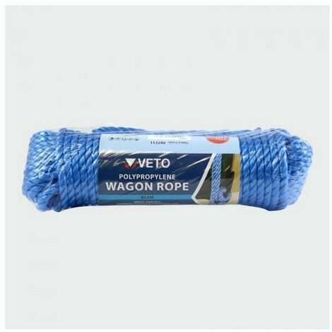 TIMco 767711 Wagon Rope 9mm x 27m
