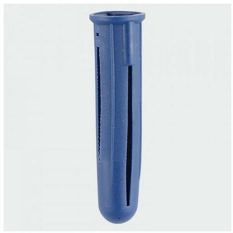 TIMco BLPLUGP Blue Plastic Plug 45mm Bag of 10