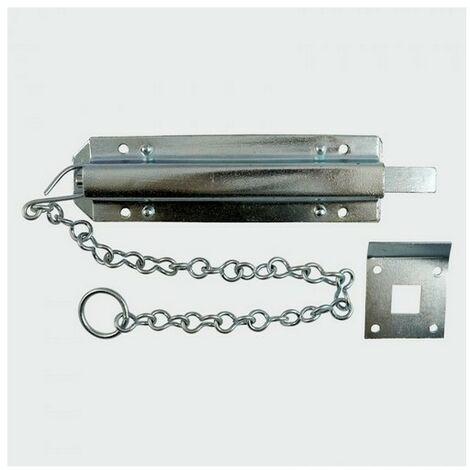 "TIMco CB18ZP Spring Garage Chain Bolt Zinc 18"""