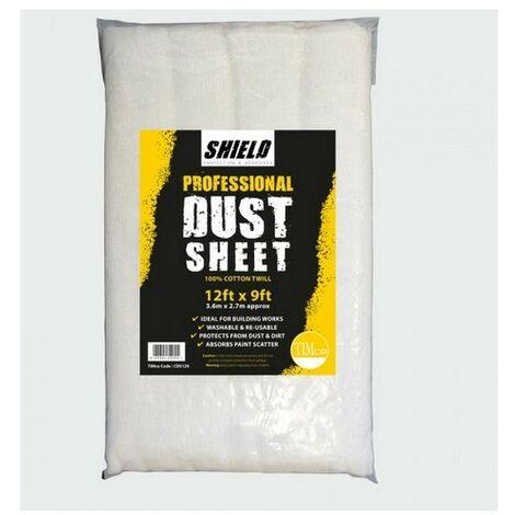 TIMco CDS129 Shield Dust Sheet 12ft x 9ft