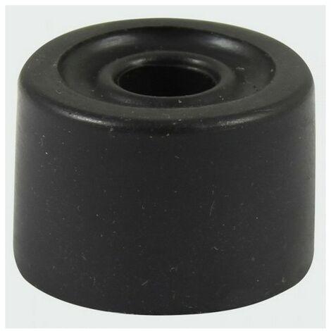 TIMco DSBLACKP PVC Door Stop Black 21 x 32mm Bag of 2