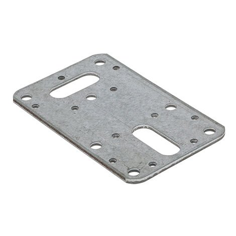 TIMco FCP100 Flat Connector Plate 62 x 100mm Bag of 5