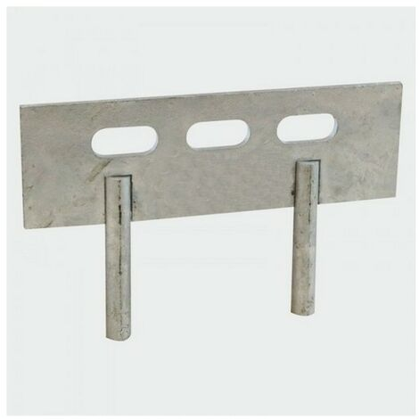 TIMco GB2P Gravel Board Clip 2 Pin Galv 150 x 50mm