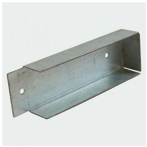 TIMco GB50 Gravel Board Clip Galv 150 x 50mm