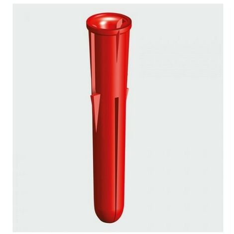 TIMco RPLUGPREM Red Plastic Premium Plug 34mm Bag of 1,000