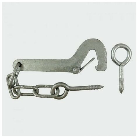 TIMco SGHEG Safety Gate Hook and Eye Galv