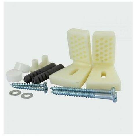 Timco WCBK Toilet & Bidet Fixing Kit - Pack of 2