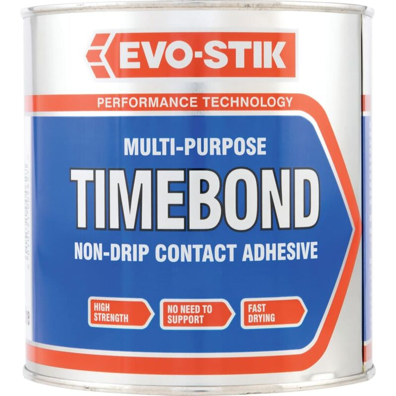 Image of 1LTR Timebond Contact Adhesive - Evo-stik