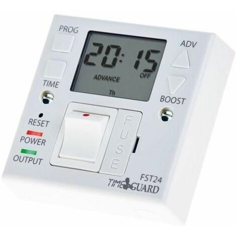 Timeguard 24 Hour Fused Spur Timeswitch - FST24