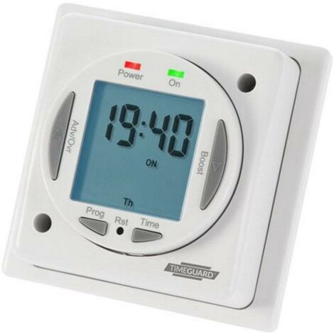 Timeguard 24hr/7 day Electronic 16A Immersion Heater Timer - NTT03