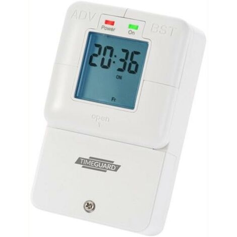 Timeguard 7 day 16A Digital Immersion Heater Time Switch - NTT08