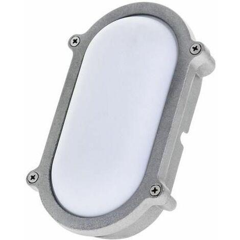 Timeguard 9W 530lm Oval LED Energy Saver Bulkhead Light - Daylight - LEDBHO9W