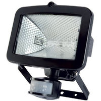 Timeguard Black SLB400G Energy Saving PIR Sensor 400W Halogen Wall Floodlight