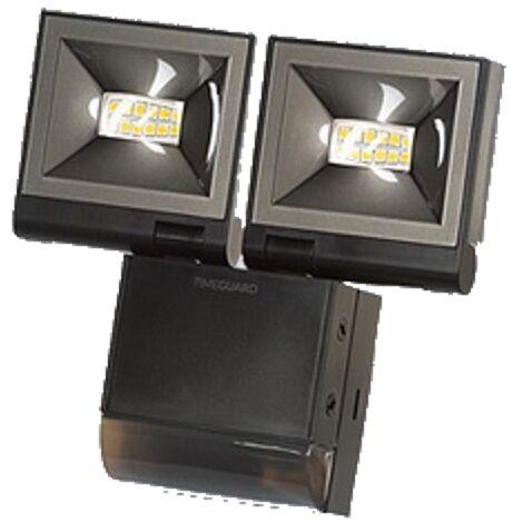 Timeguard Black Twin 10W 200 Range LED PIR Floodlight Cool White - LED200PIRBE