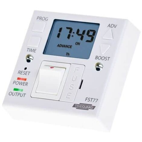 Timeguard FST77A Fused Spur Timer (24 Hour 7 Day), For Electric Appliances