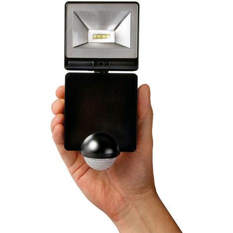 Timeguard LED100PIRB 8W LED Energy Saver PIR Floodlight - Black