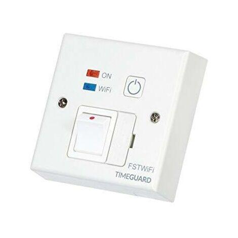 Timeguard Wi-Fi Controlled Fused Spur - FSTWIFI
