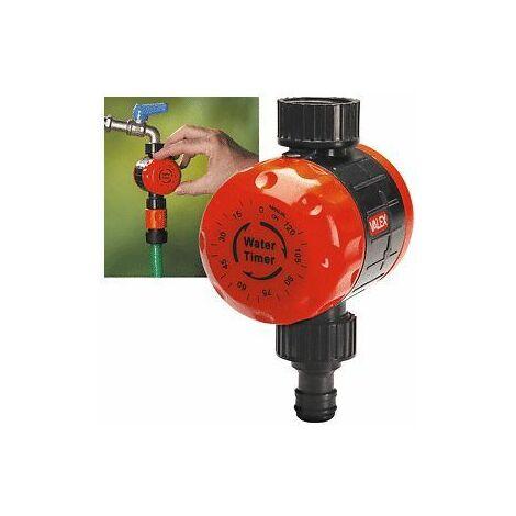 """Timer per rubinetti valex attacco 3/4"""" 5-120 min rubinetto orologio irrigazione"""