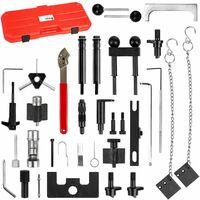 Timing belt tools - timing belt, cam belt, toothed belt - black